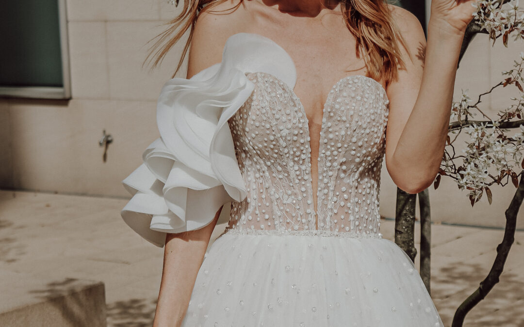 Bridal Styled Shooting in der Stadt